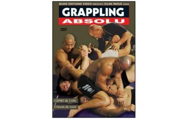 GRAPPLING, coffret 3 DVD - Inoue Egan
