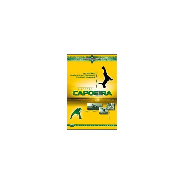 Coffret Capoeira (dvd. 37- dvd. 116- dvd. 117)
