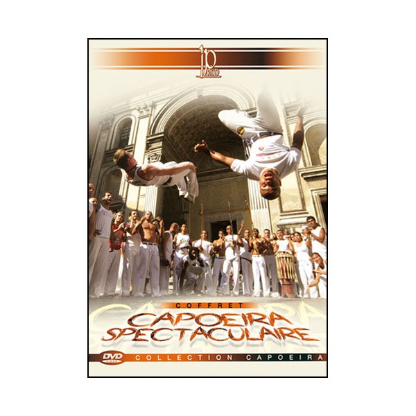 Coffret Capoeira spectaculaire (dvd.07- dvd.16- dvd.154)