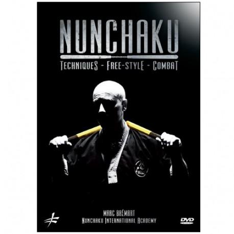 Nunchaku Techniques-Free-style-Combat - Marc Brémart