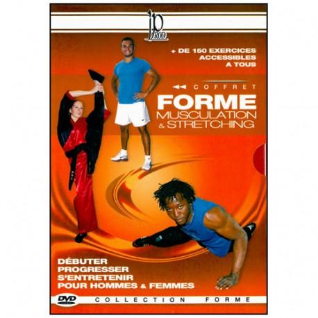 Coffret Forme (dvd.107- dvd.87- dvd.127- dvd.49)