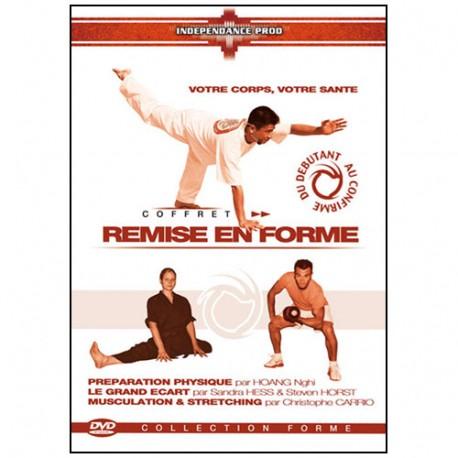 Coffret Remise en forme (dvd.22- dvd.97- dvd.98)