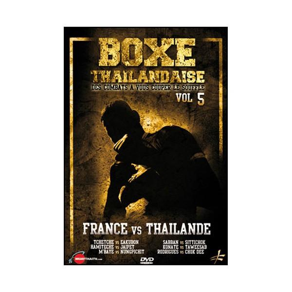 Boxe Thailandaise, Vol.5 France VS Thailande
