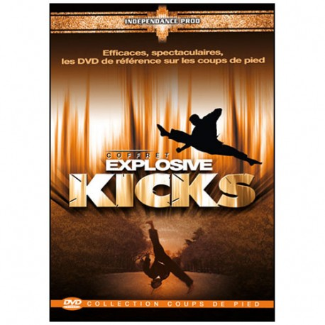 Coffret Kicks (dvd.70- dvd.78- dvd.108)