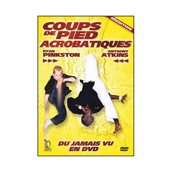 Coups de pied acrobatique - Anthony Atkins