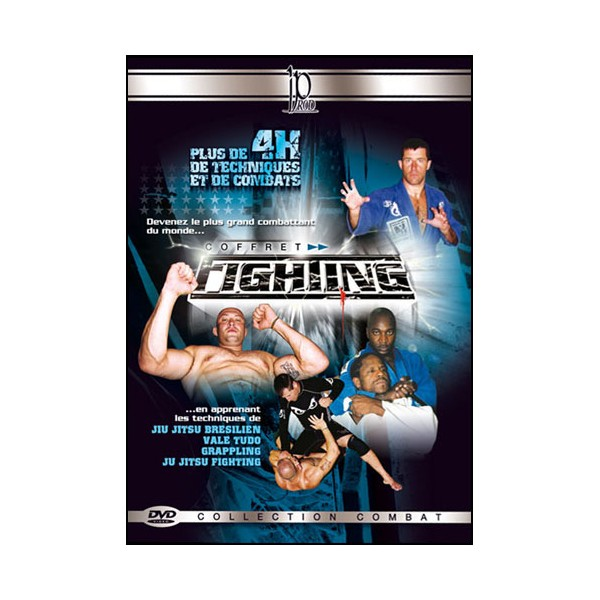 Coffret Fighting (dvd.110- dvd.111- dvd.54)