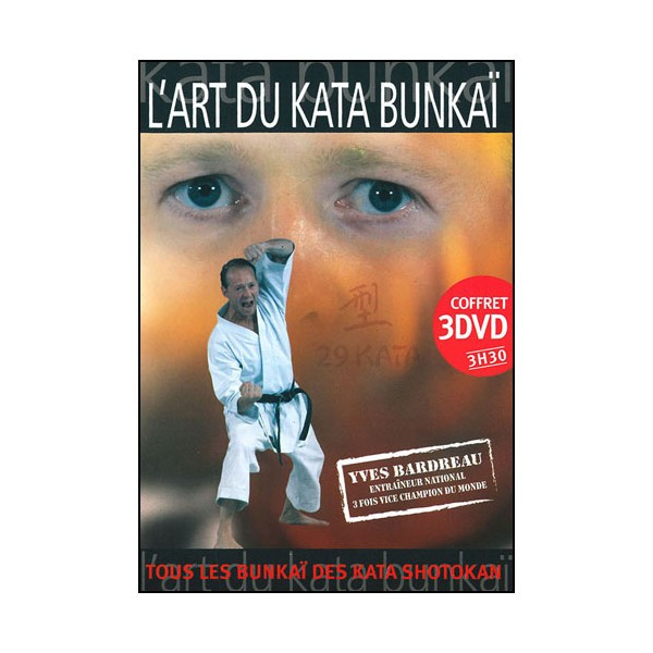 Coffret l'Art du Kata Bunkai (3DVD) - Yves Bardreau