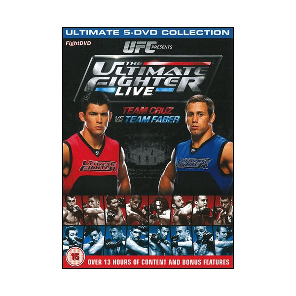 The Ultimate Fighter 15 (pack5 DVD)