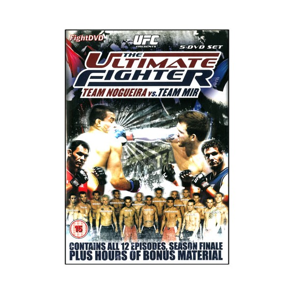 The Ultimate Fighter 8 (pack 5 DVD)