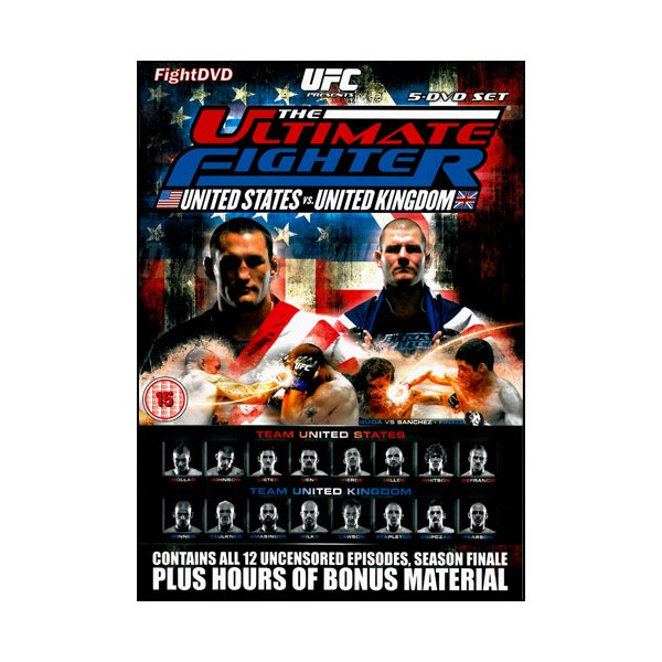 The Ultimate Fighter 9 (pack 5 DVD)
