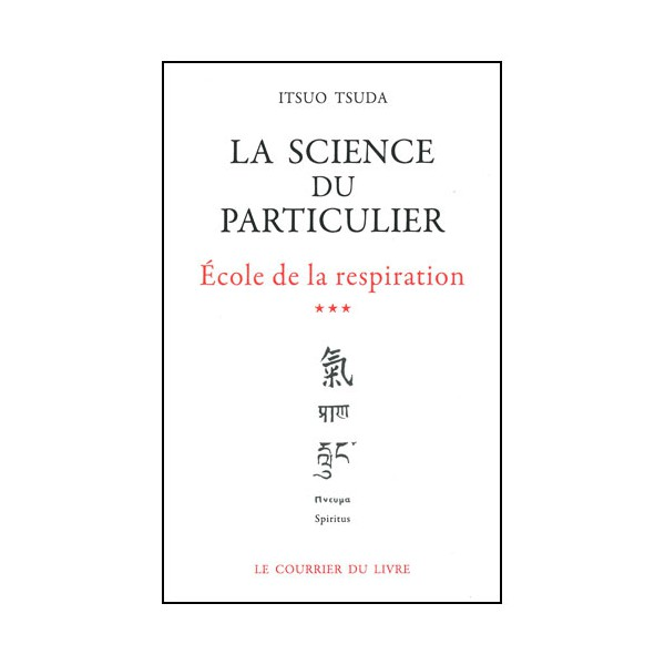 La science du particulier, école de la resp. (3) - Tsuda (éd. 2012)