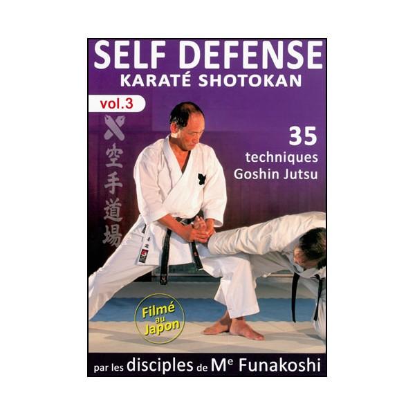 Self Défense Karaté Shotokan, tech. Goshin Jutsu -Disciples Funakoshi