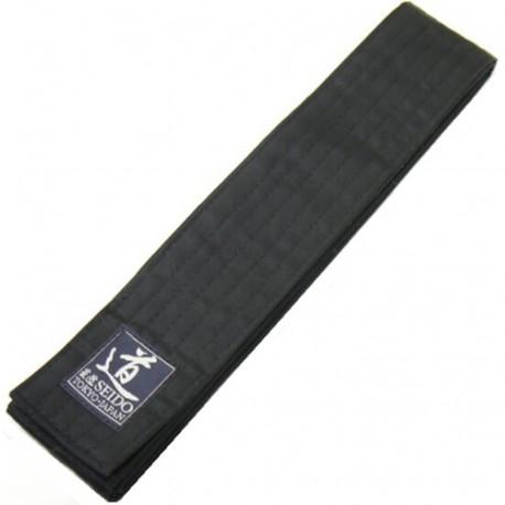 OBI Coton, 6,3 cm de large, longueur 350, NOIR - Japon