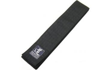 OBI coton, 6,3 cm de large, longueur 350 cm, NOIR - Japon