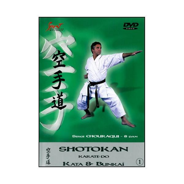 Karaté Shotokan, Kata & Bunkai vol.1 - Serge Chouraqui