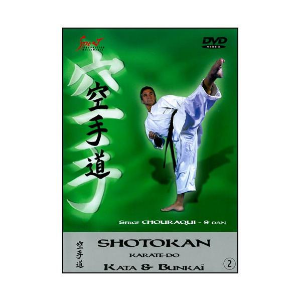 Karaté Shotokan, Kata & Bunkai vol.2 - Serge Chouraqui