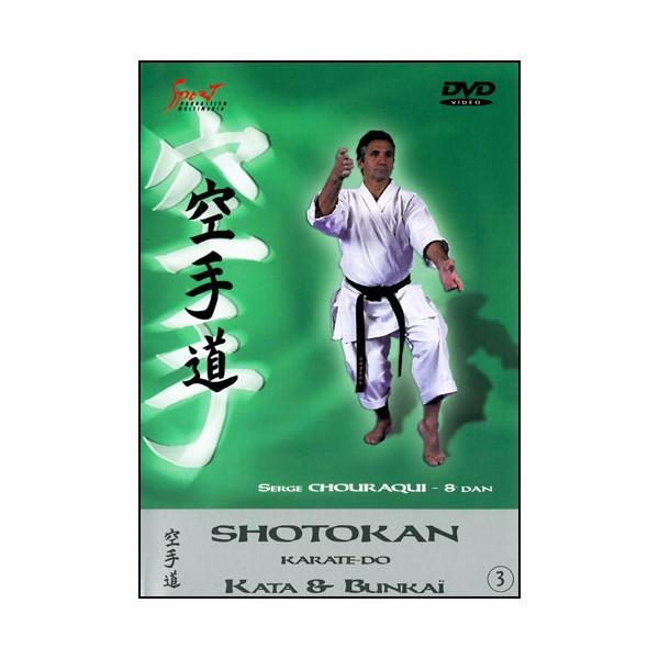 Karaté Shotokan, Kata & Bunkai vol.3 - Serge Chouraqui