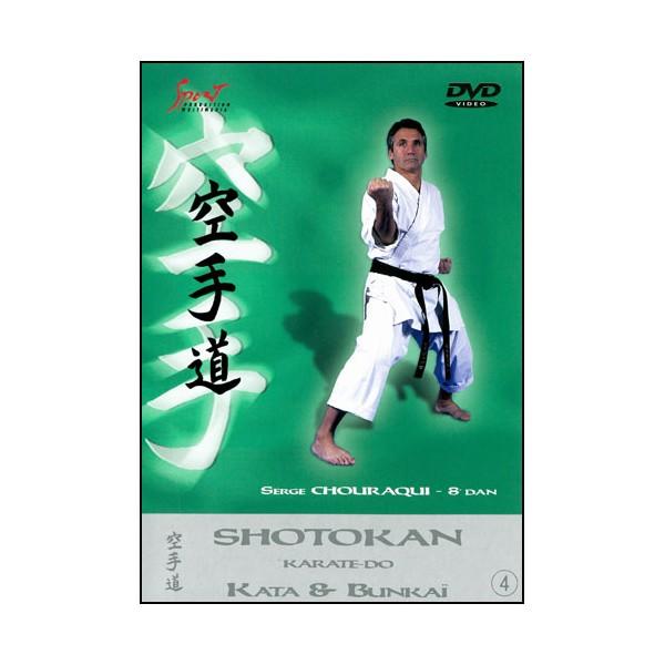 Karaté Shotokan, Kata & Bunkai vol.4 - Serge Chouraqui