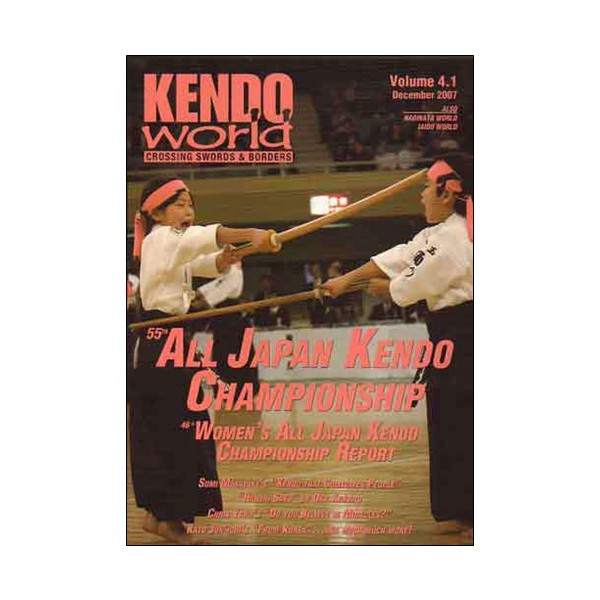 Kendo world Vol.4.1 (magazine anglais)
