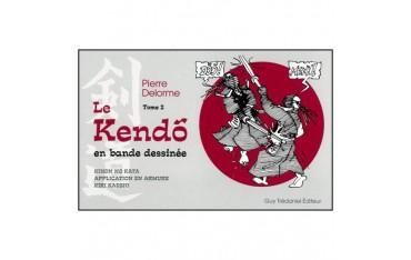 Le Kendo en bande dessinée (tome 2) - Pierre Delorme