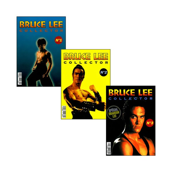 Bruce Lee collector N°1 à 3 (3 magazines)