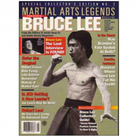 Bruce Lee collector Vol.2  (magazine anglais)
