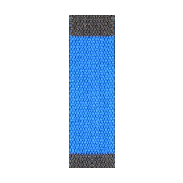Ceinture sangle bicolore JUDO enfant - BLEU/MARRON