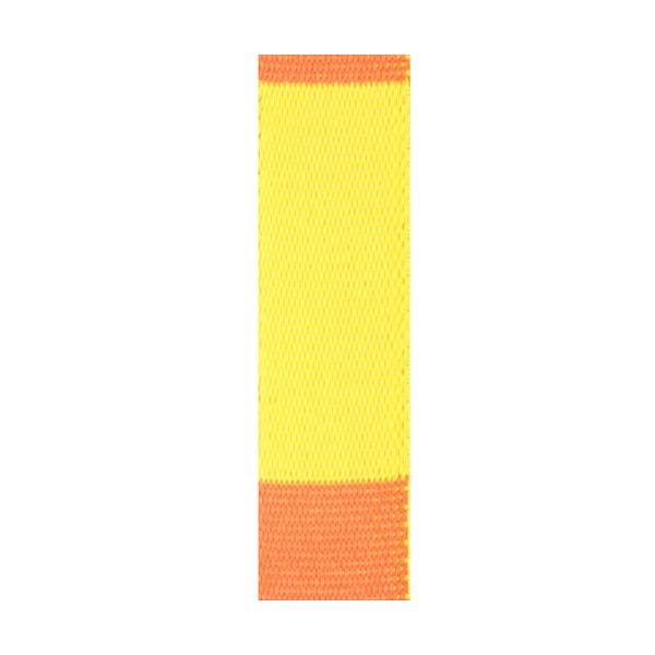 Ceinture sangle bicolore JUDO adulte - JAUNE/ORANGE