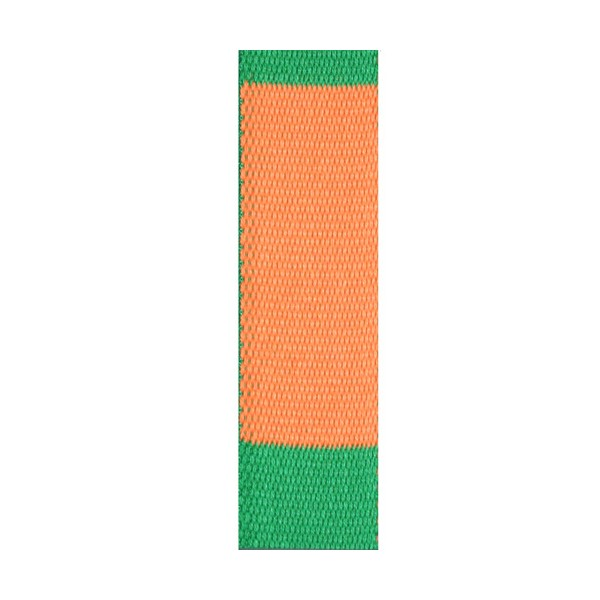 Ceinture sangle bicolore JUDO adulte - ORANGE/VERT