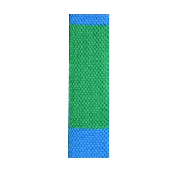Ceinture sangle bicolore JUDO adulte - VERT/BLEU