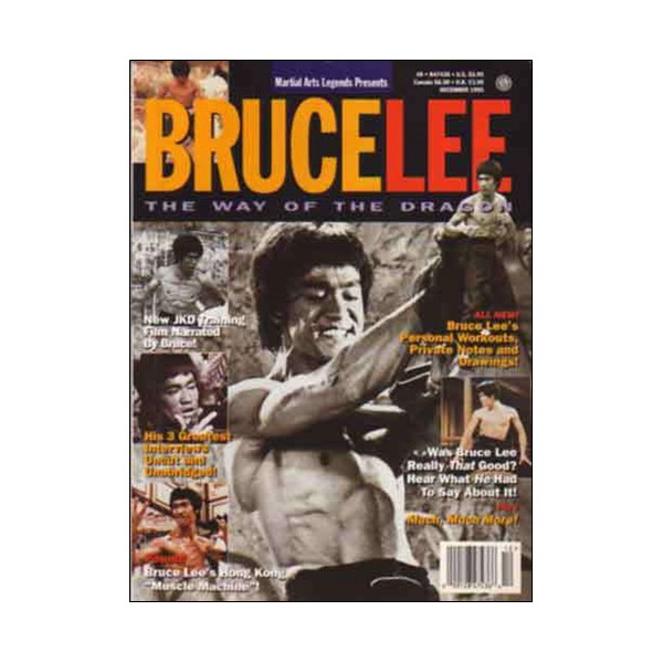 Bruce Lee the way of the dragon Vol.3 (magazine anglais)