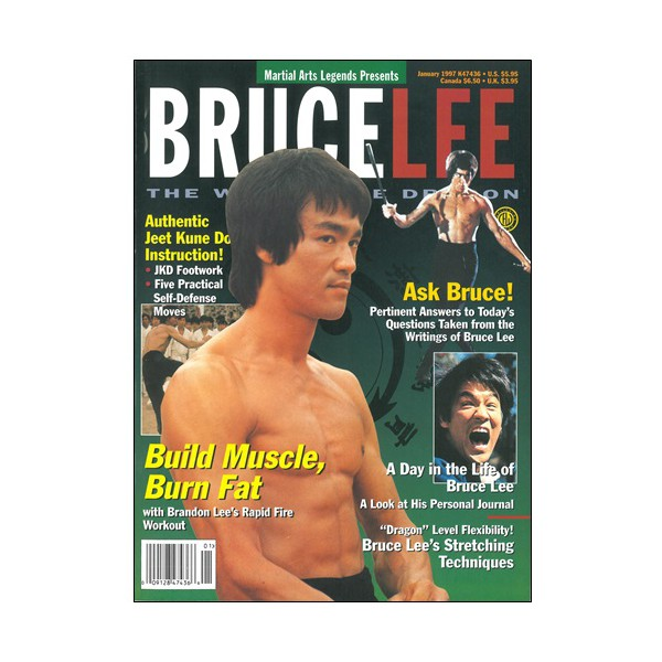 Bruce Lee way of the dragon Vol.1 (magazine anglais)