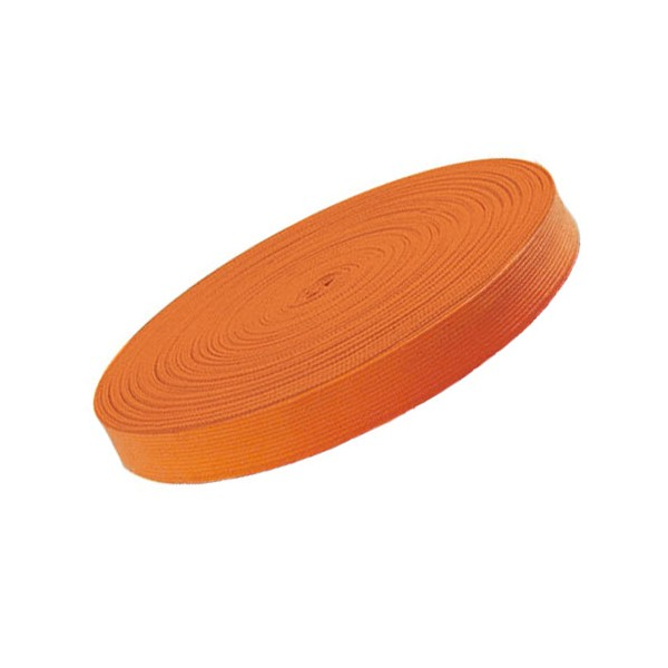 Ceinture sangle JUDO, rouleau 50 mètres - ORANGE
