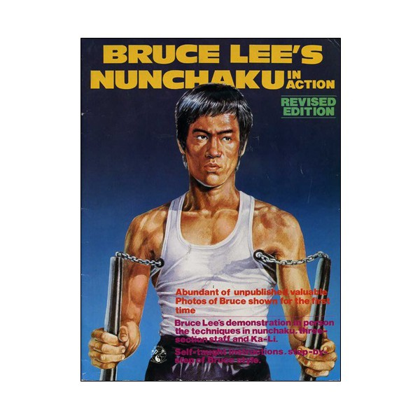 Bruce Lee's Nunchaku in action  (magazine anglais)