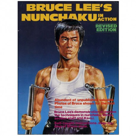 Bruce Lee's Nunchaku in action  (magazine anglais)