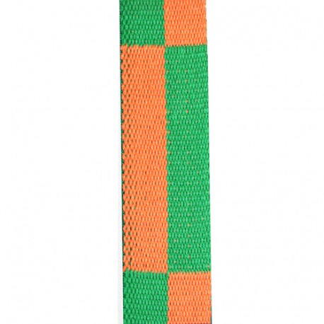 Ceinture sangle bicolore KARATE enfant - ORANGE VERT - BudoStore dea452a1f54