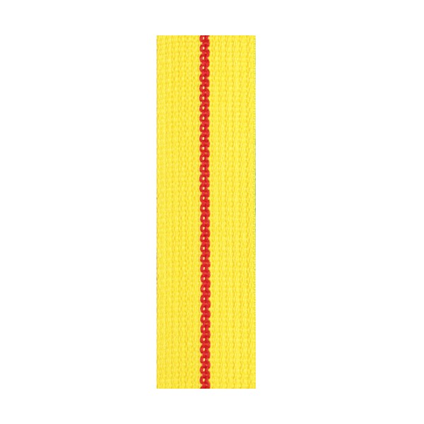 Ceinture sangle KARATE adulte - JAUNE