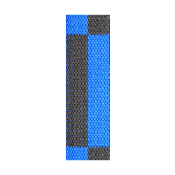 Ceinture sangle bicolore KARATE adulte - BLEU/MARRON