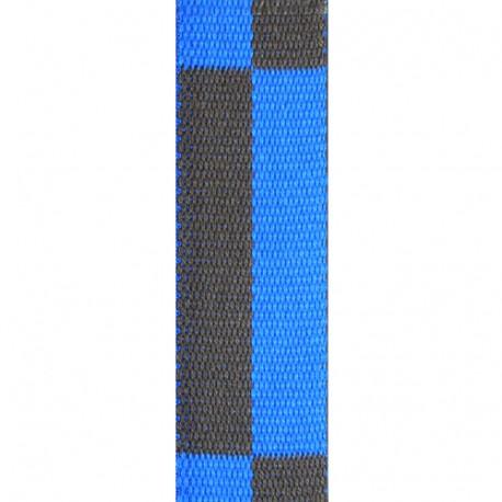 Ceinture sangle bicolore KARATE adulte - BLEU/MARRON