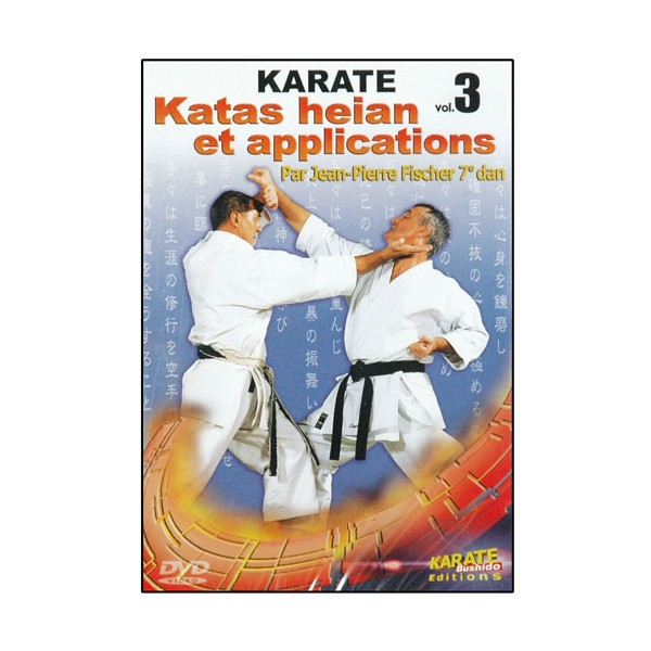 Karaté, Katas Heian et applications Vol.3 - J.P. Fisher