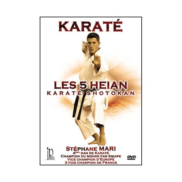 Karaté, les 5 Heian du Karaté Shotokan - Stéphane Mari