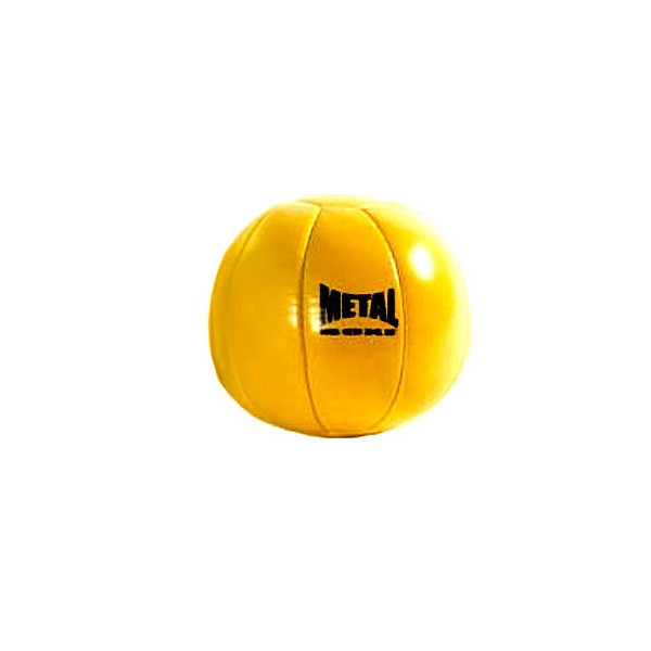 Médecine ball MB en vinyle, 1kg (jaune)