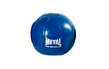 Médecine ball MB en vinyle, 3kgs (bleu)