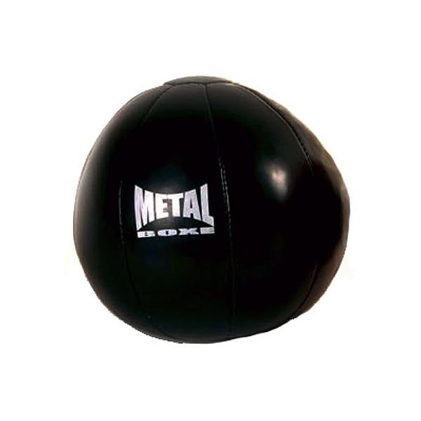 Médecine ball MB en vinyle, 5kgs (noir)