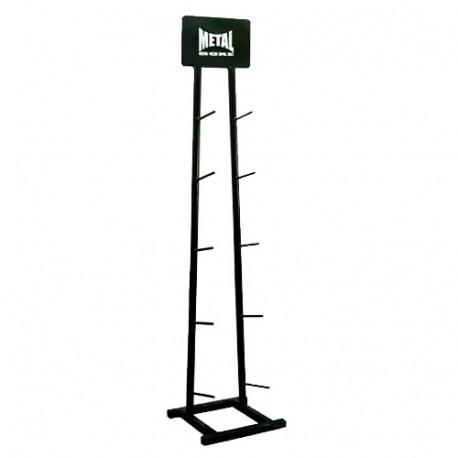 Ratelier vertical MB pour Médecine ball, 5 étages, Noir