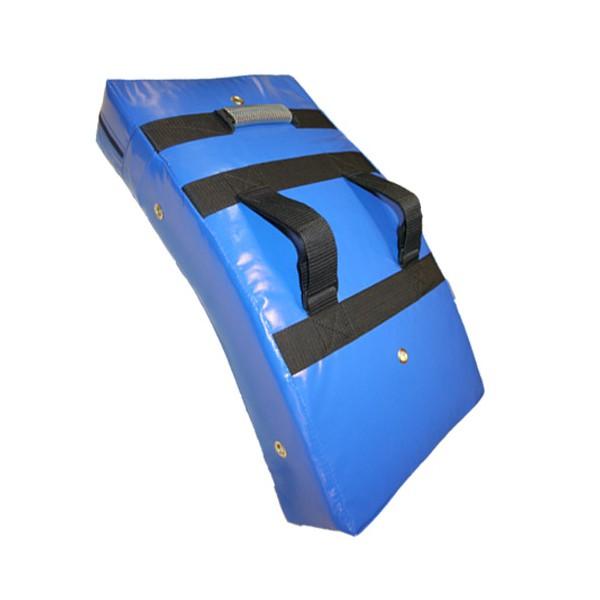 Bouclier courbe 60x33 en PVC renforcé - BLEU