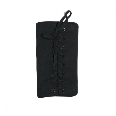Cible mousse pour poteau makiwara ou bras Dummy, 20x12 - Coton NOIR