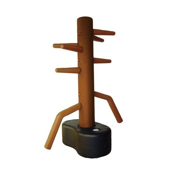 Dummy, mannequin plastique Wing-Chun, modèle pour 2 sur socle lesté