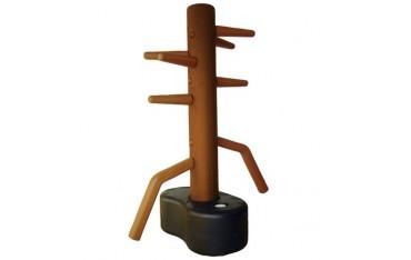 Dummy, mannequin en plastique Wing-Chun, modèle pour 2 personnes, sur socle lesté