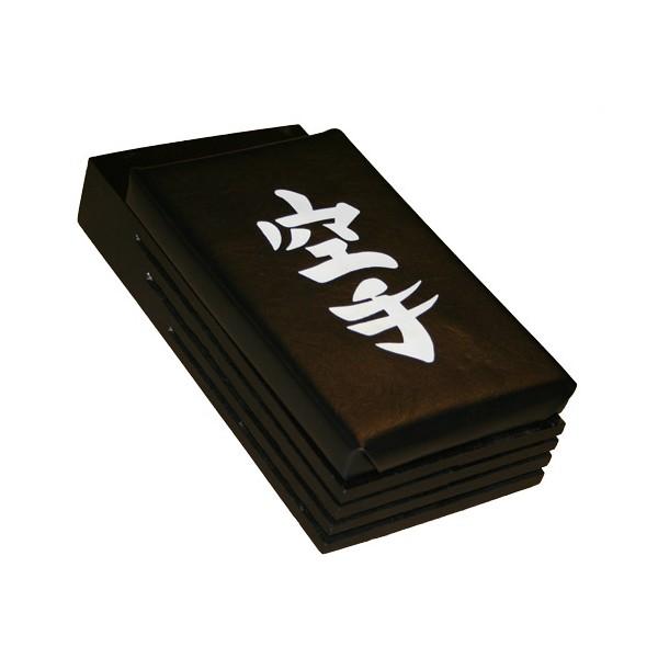 Makiwara mural amortisseur bois Noir, mousse 23x15 NOIRE - Vinyle
